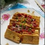 鱼香豆腐(素菜-开胃下饭菜)