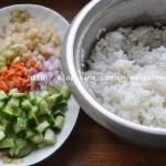 蚝油炒饭(早餐菜谱)