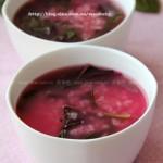 紫苋粥(清热解毒防中暑)