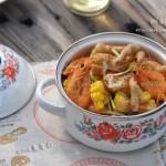 秘制大虾煲(秘制五星级吃虾法)