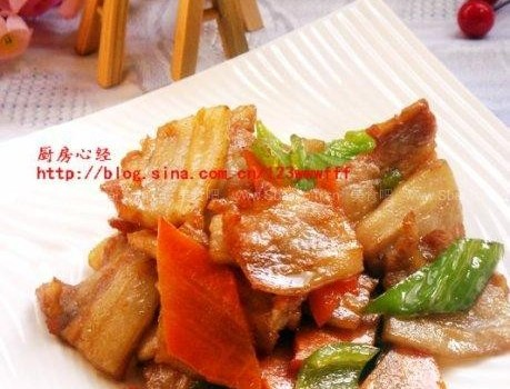 培根小炒肉(自制培根)