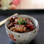 香辣排骨(荤菜)