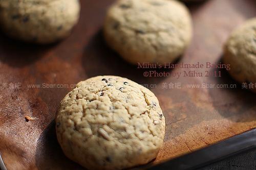 巧克力葵花籽饼干