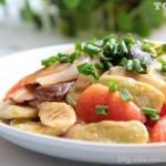 蚕豆的创意吃法(素菜)
