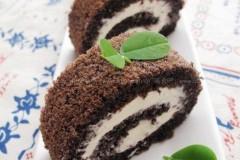 黑米米粉蛋糕卷