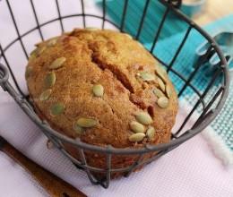 南瓜子玛芬蛋糕
