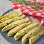 韭菜鸡蛋灌饼(早餐菜谱)