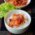 泡菜五花肉(荤菜)