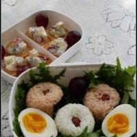 五彩便当+薯片沙拉