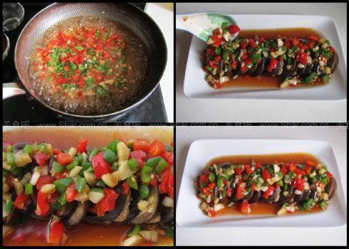 微波炉烤茄子