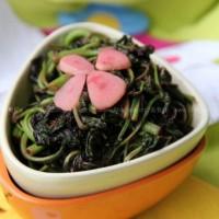 春蒜炒苋菜