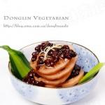 红豆冰糖糯米藕(女性健康的良好滋补调养菜肴)