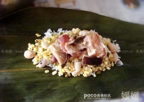 自制端午肉粽子