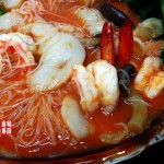 虾汁酸辣米粉(海鲜家常菜)