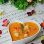 番茄蔬菜浓汤(素菜)