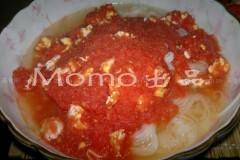 番茄蛋米线