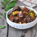 排骨茄子煲(荤菜-炮制餐馆人气排骨吃法)