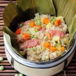 什锦豌豆糯米饭(早餐菜谱)