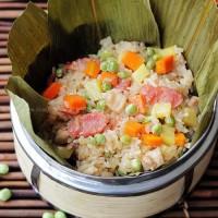 什锦豌豆糯米饭