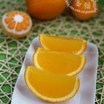 香橙果冻(有趣又健康的消夏甜品)