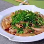 葱油拌海肠(海鲜家常菜)