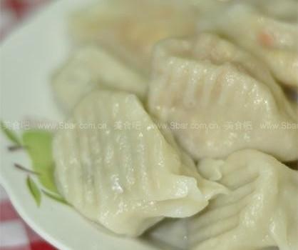 野菜水饺+凉拌野菜(早餐菜谱)