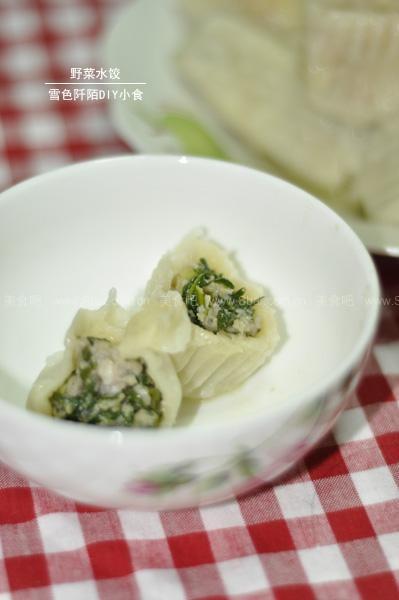 野菜水饺+凉拌野菜