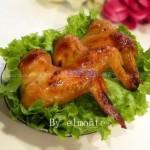 蒜香蜜汁烤鸡翅(荤菜)