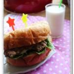 巨无霸汉堡(早餐菜谱)