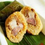 包粽子图解(鲜肉粽)