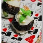 日式炸虾饭团(早餐菜谱)