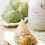 秘制台式香菇肉粽(粽子怎么包 )