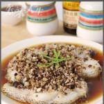 香菇末蒸鳕鱼(清蒸菜)