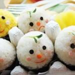蛋小人饭团(便当菜谱)