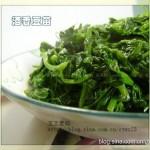 酒香豆苗(清热解毒且润泽肌肤)