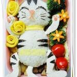 可爱猫咪便当(便当菜谱)