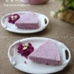 紫薯松糕(無油低糖免烤)