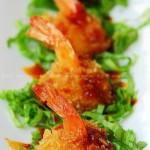 黄金俏皮香酥虾(海鲜家常菜)