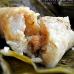 花生绿豆鲜肉粽(粽子怎么包)