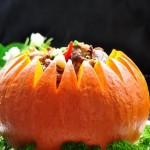 金瓜排骨(荤素搭配)