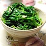 蒜香绿苋(最适合夏季吃的凉拌菜)