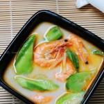 米汤鲜虾浸丝瓜(夏日快手好汤水)
