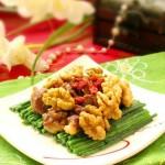 鸡胗炒三宝(家庭食疗-强肾补铁)