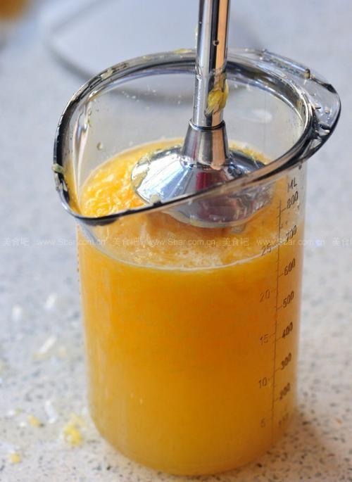 自制橙汁果冻