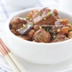 双莲焖排骨(清肺排毒的下饭菜)