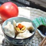 西红柿鸡蛋饺(早餐菜谱)