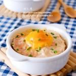 咸蛋蒸肉饼(清蒸菜)