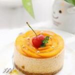 黄金杏慕斯(法式甜点)