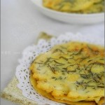 發菜煎餅(早餐菜譜)