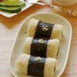 海苔鲜蔬吐司卷(5分钟营养早餐)